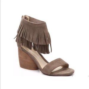 "5a7415f3381 Free People Matiko ""Desiree"" Taupe Sandals 8M"